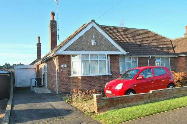 2 Bedrooms Semi Detached Bungalow for sale in Orchard Way, Duston, Northampton NN5 6HG