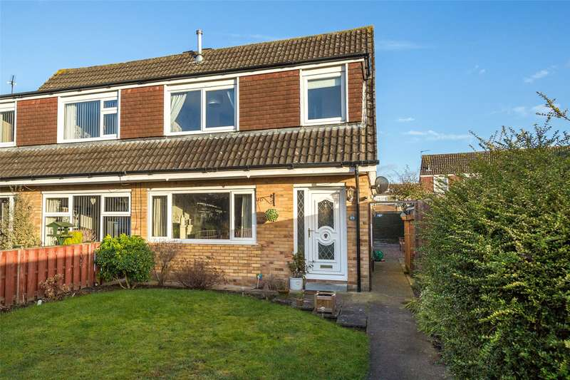 3 Bedrooms Semi Detached House for sale in Castle Close, Wigginton, York, YO32