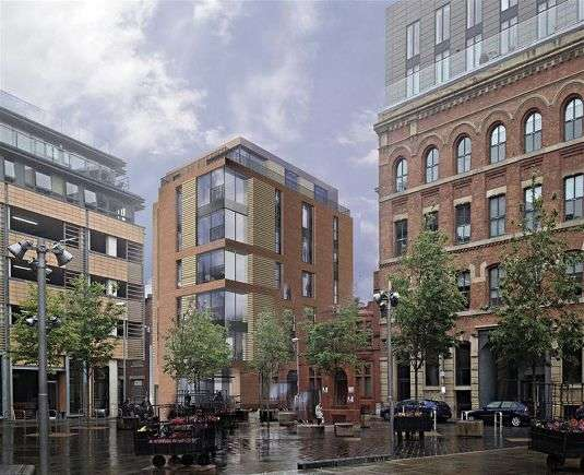 3 Bedrooms Town House for sale in Cotton Square, Blossom Street, Manchester