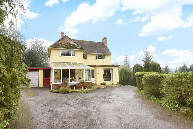 4 Bedrooms Detached House for sale in Middlecombe, Minehead, Somerset, TA24