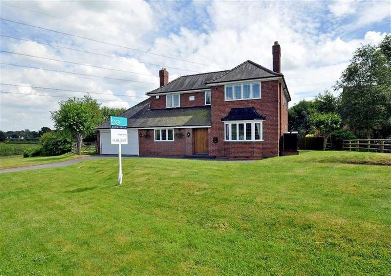 4 Bedrooms Detached House for sale in Nurton Hall Farmhouse, Wolverhampton Road, Pattingham, Wolverhampton, South Staffordshire, WV6