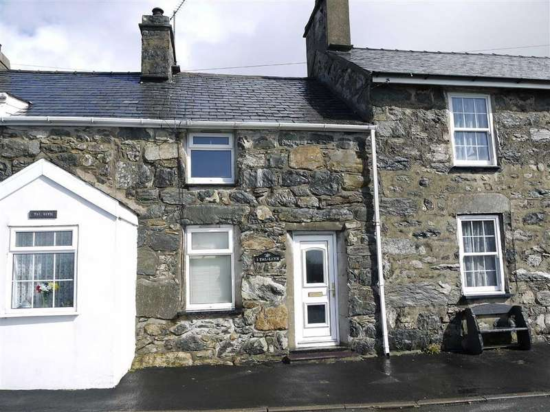 2 Bedrooms Terraced House for sale in Talyllyn, Garndolbenmaen