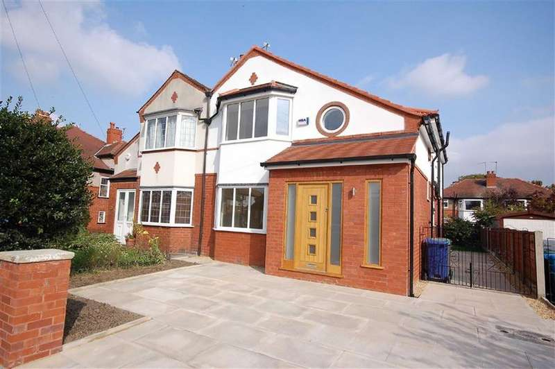 4 Bedrooms Semi Detached House for sale in Dene Road, Didsbury, Manchester, M20