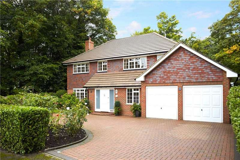 4 Bedrooms Detached House for sale in Lebanon Drive, Cobham, Surrey, KT11