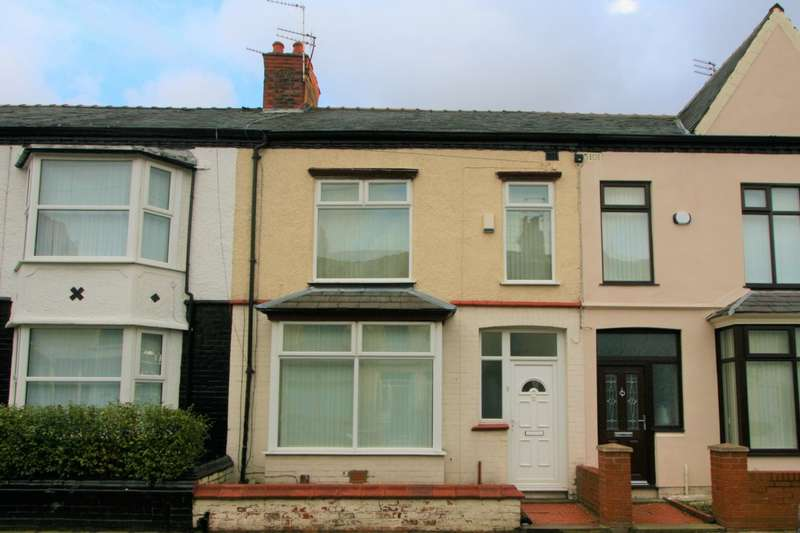 3 Bedrooms Terraced House for sale in Montrose Road, Old Swan, L13
