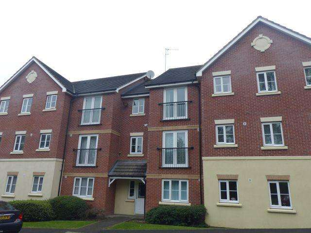 2 Bedrooms Flat for sale in Asbury Court,Newton Road,Great Barr