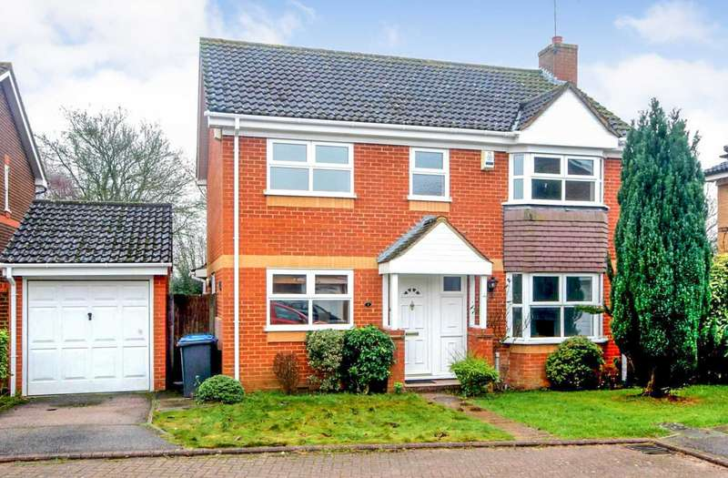 4 Bedrooms Detached House for sale in 4 BED DETACHED in CUL DE SAC. LEVERSTOCK GREEN. NO UPPER CHAIN> ENSUITE TO MASTER.