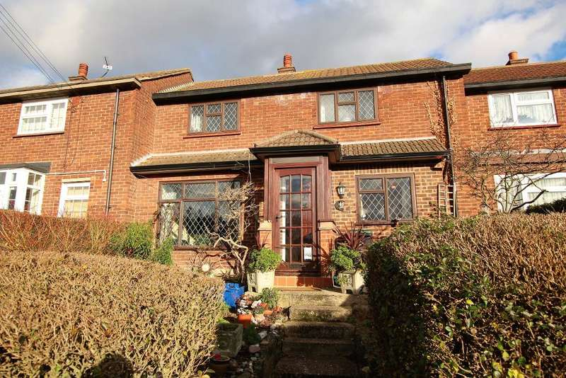 2 Bedrooms Terraced House for sale in Beconsfield Way, Epping, Essex, CM16 5BA