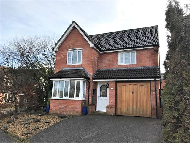 3 Bedrooms Detached House for sale in Monmouth Way, Honiton