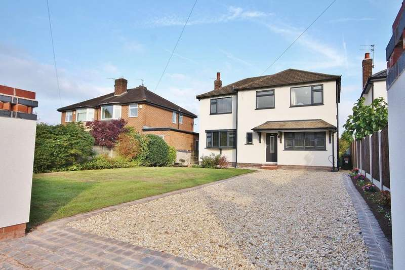 4 Bedrooms Detached House for sale in Buckingham Road, Wilmslow