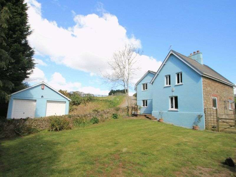 4 Bedrooms Property for sale in near Trerulefoot, Liskeard