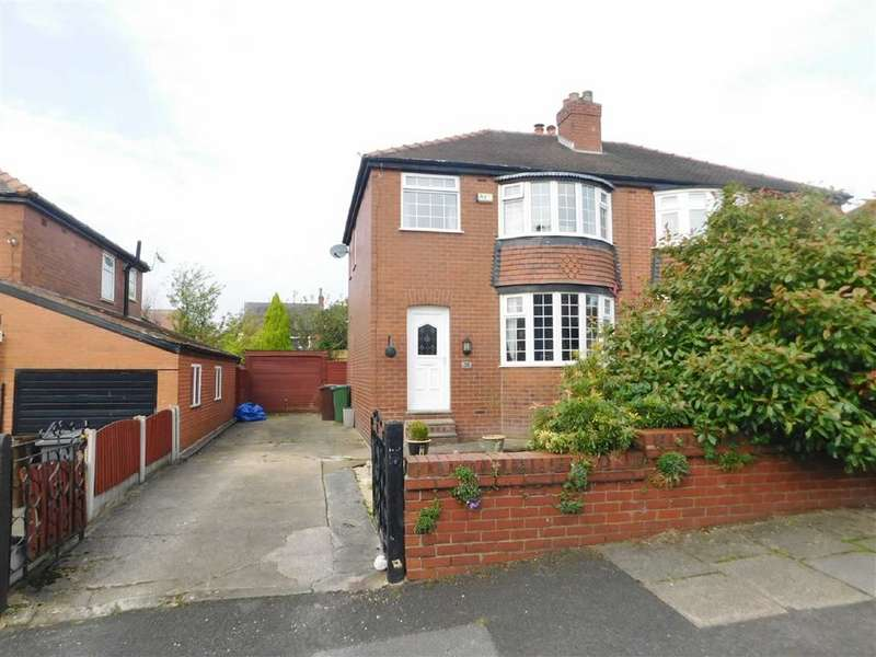 3 Bedrooms Semi Detached House for sale in Sandringham Road, Gee Cross, Hyde