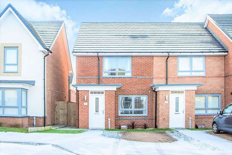 2 Bedrooms Semi Detached House for sale in Byrewood Walk, Newcastle Upon Tyne, NE3