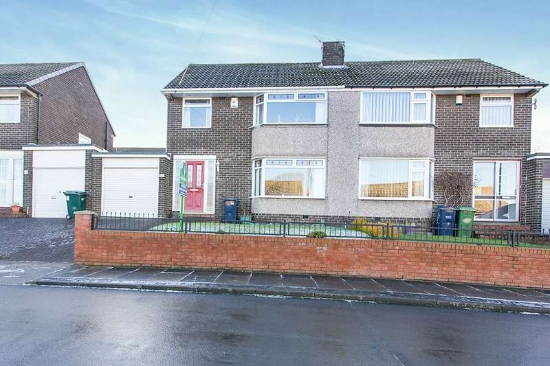 3 Bedrooms Semi Detached House for sale in Thornton Crescent, Blaydon-On-Tyne, NE21