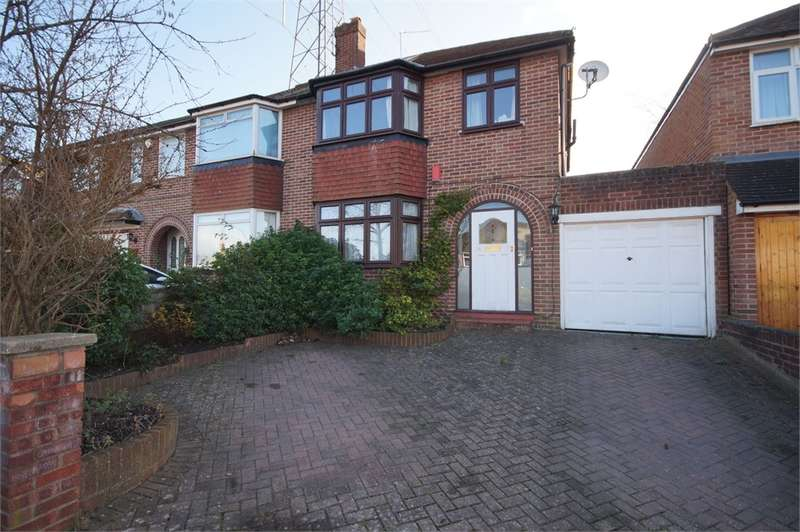 3 Bedrooms Semi Detached House for sale in Delamere Road, Earley, READING, Berkshire