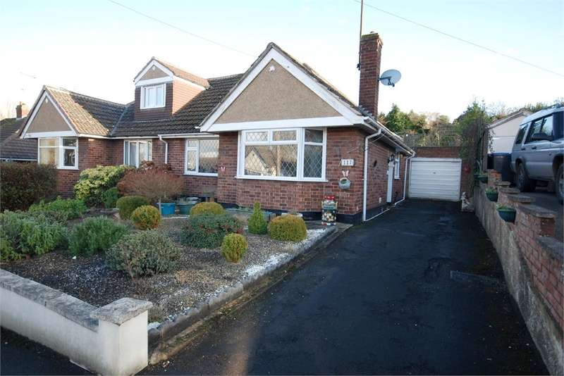 2 Bedrooms Semi Detached Bungalow for sale in Mckinnell Crescent, Hillmorton, RUGBY, Warwickshire