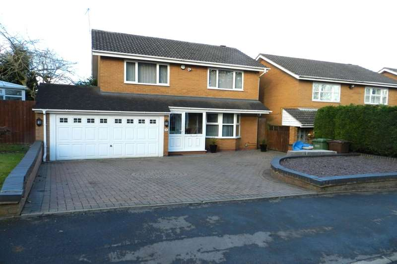 4 Bedrooms Detached House for sale in Kingsleigh Drive, Birmingham, B36