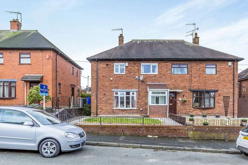 3 Bedrooms Semi Detached House for sale in Bouverie Parade, Stoke-On-Trent, ST1