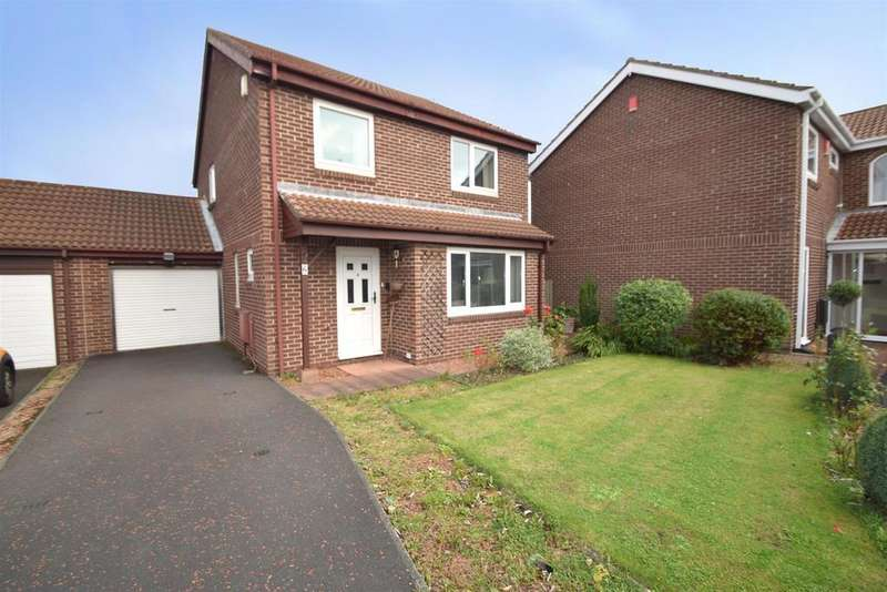 4 Bedrooms Detached House for sale in Cheldon Close, Whitley Bay, Red House Farm