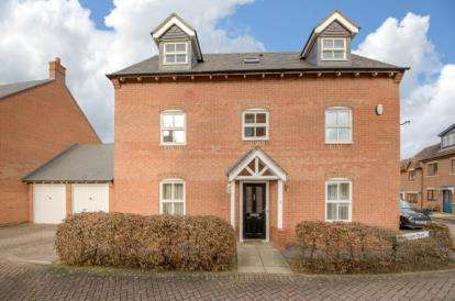 5 Bedrooms House for sale in Glendurgan Court, Westcroft, Milton Keynes