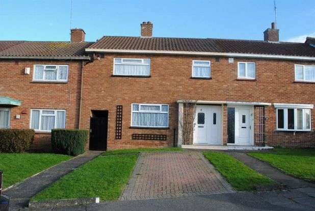 3 Bedrooms Terraced House for sale in Cosgrove Way, Kingsthorpe, Northampton NN2 8JP