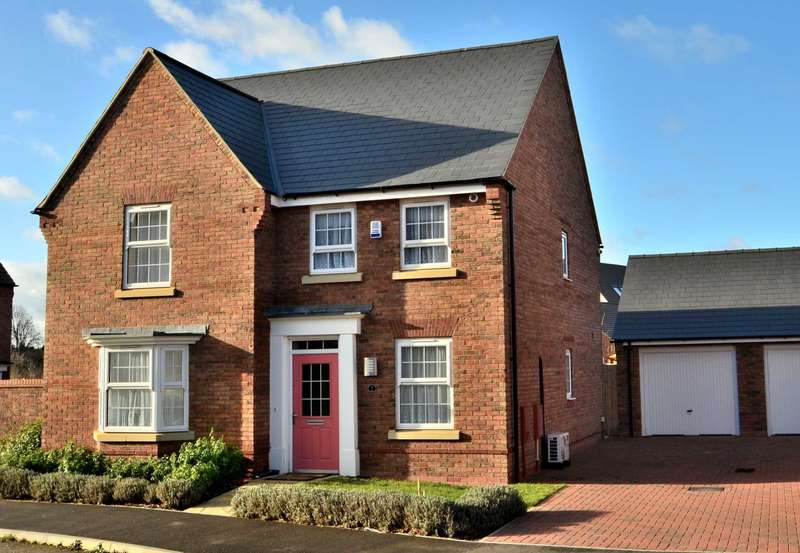 4 Bedrooms Detached House for sale in Illustrious, Brooklands