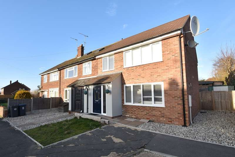 3 Bedrooms End Of Terrace House for sale in Plaw Hatch Close, Bishop's Stortford