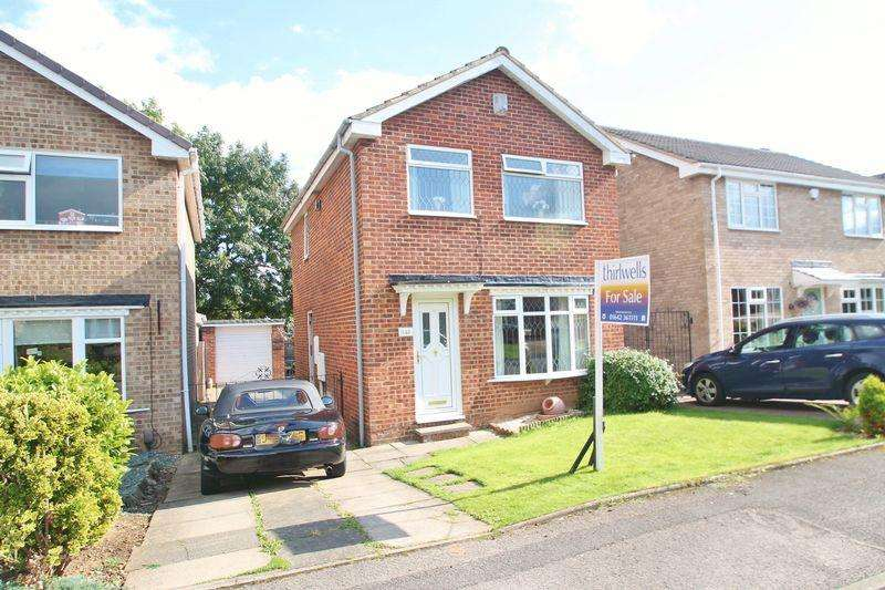 3 Bedrooms Detached House for sale in Lanchester Avenue, Billingham