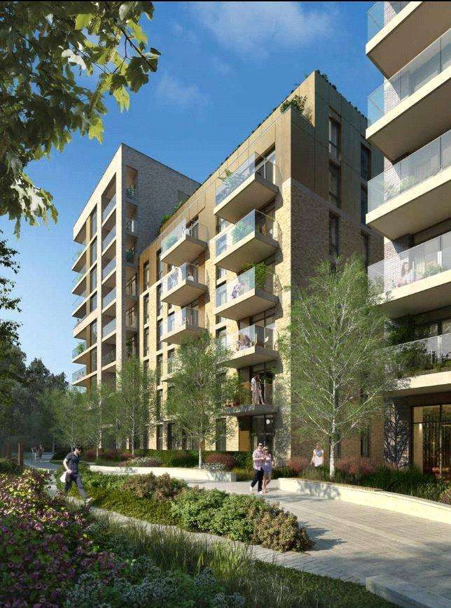 2 Bedrooms Flat for sale in Sury Basin, Kingston upon Thames, KT2