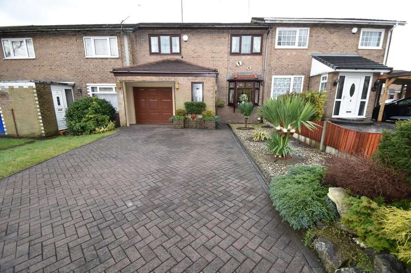 3 Bedrooms Terraced House for sale in Hodder Way, Whitefield, Manchester, M45