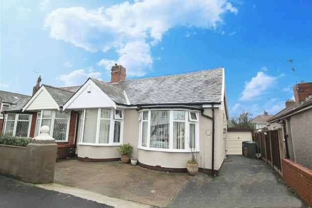3 Bedrooms Semi Detached Bungalow for sale in Dunelt Road, Blackpool, Lancashire, FY1 6LU