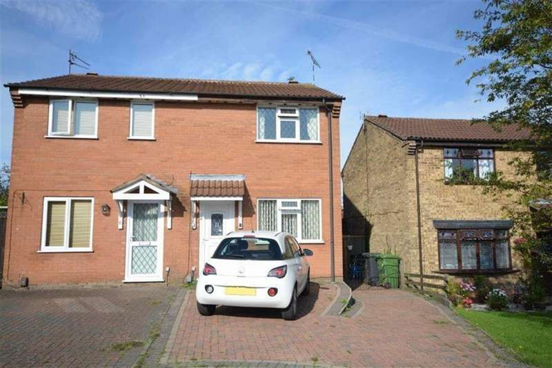 2 Bedrooms Semi Detached House for sale in Aintree Close, Bedworth