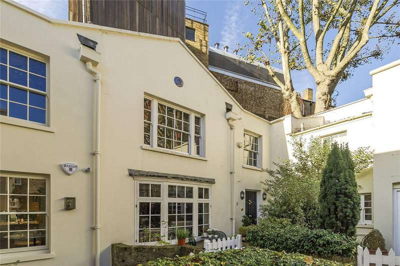 2 Bedrooms Mews House for sale in Chester Cottages, Bourne Street, Belgravia, London, SW1W