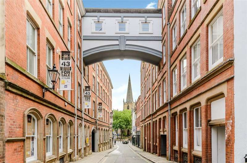 2 Bedrooms Flat for sale in Hounds Gate Court, 14 Hounds Gate, Nottingham, NG1