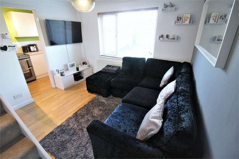 1 Bedroom End Of Terrace House for sale in Charville Drive, Calcot, Reading