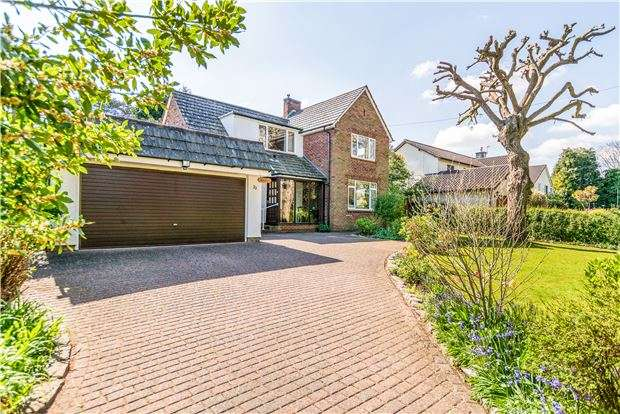 4 Bedrooms Detached House for sale in Church Road, Sneyd Park, Stoke Bishop, Bristol, BS9 1QP