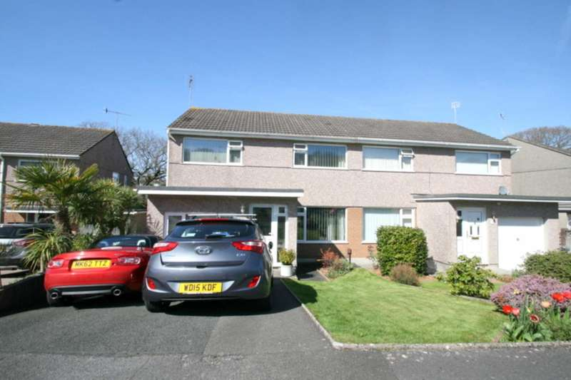 4 Bedrooms Semi Detached House for sale in Rosewood Close, Plymstock