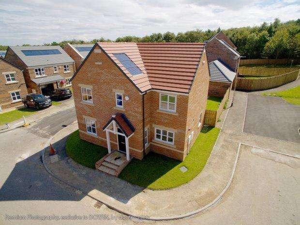 4 Bedrooms Detached House for sale in THE DARLINGS, HART VILLAGE, HARTLEPOOL