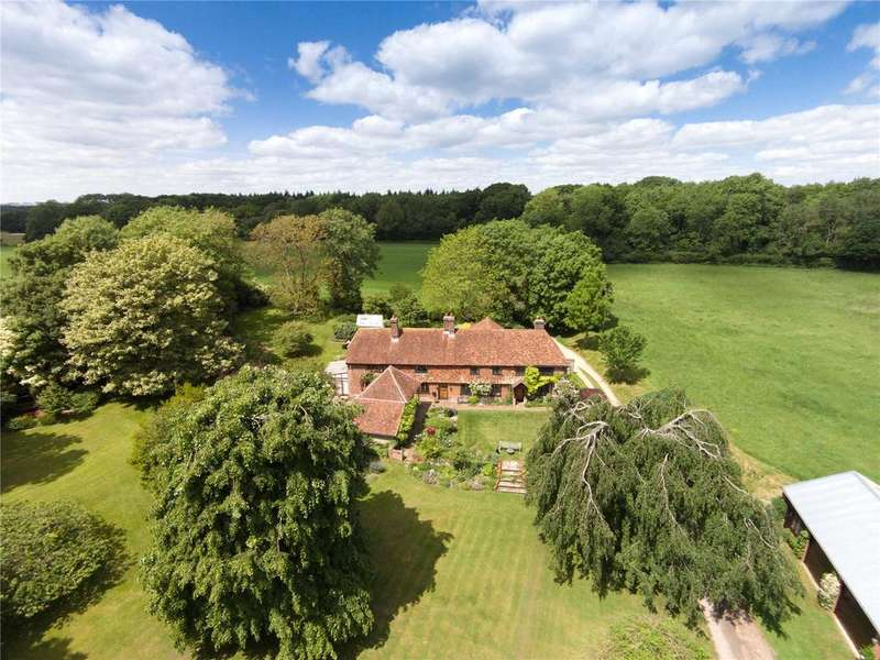 5 Bedrooms Detached House for sale in Lippen Lane, Warnford, Hampshire, SO32