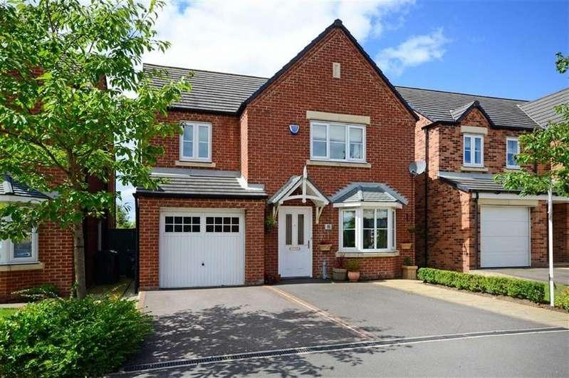 4 Bedrooms Detached House for sale in 15, Spring Gardens, Wessington, Alfreton, Derbyshire, DE55
