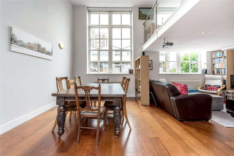 2 Bedrooms Flat for sale in Frederick Building, 76 Tottenham Road, London, N1
