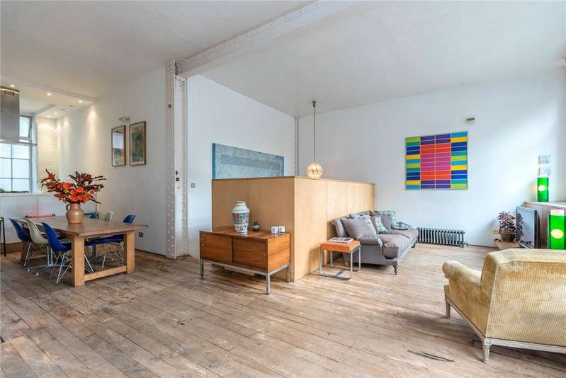 3 Bedrooms Flat for sale in Banner Buildings, 74-84 Banner Street, Clerkenwell, EC1Y