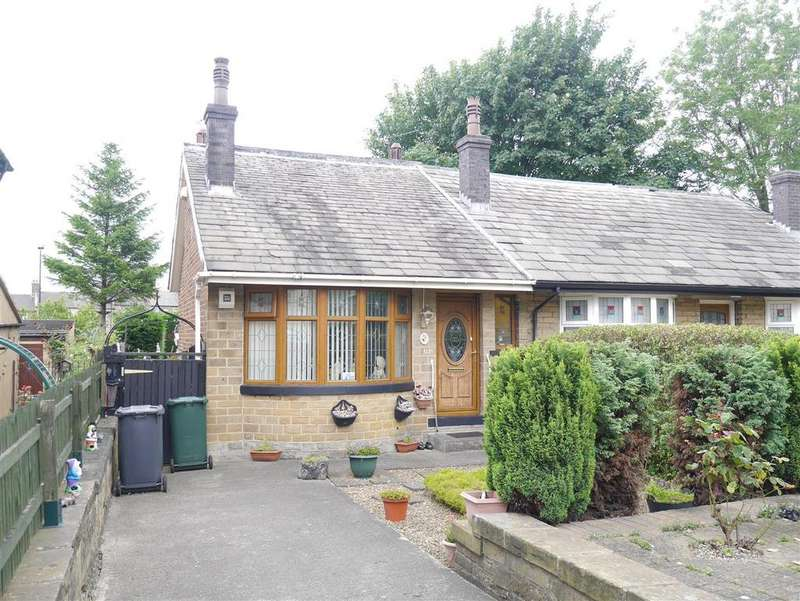 2 Bedrooms Semi Detached Bungalow for sale in Fenby Avenue, Dudley Hill, BD4 9LJ