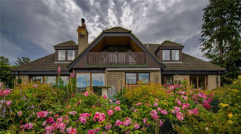 4 Bedrooms Detached House for sale in Eleanburn, Bridge of Gairn, Ballater, Aberdeenshire, AB35