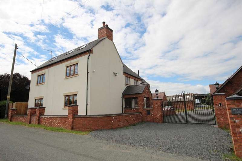 4 Bedrooms Detached House for sale in Middle Farm, Newton, Rugeley, Staffordshire