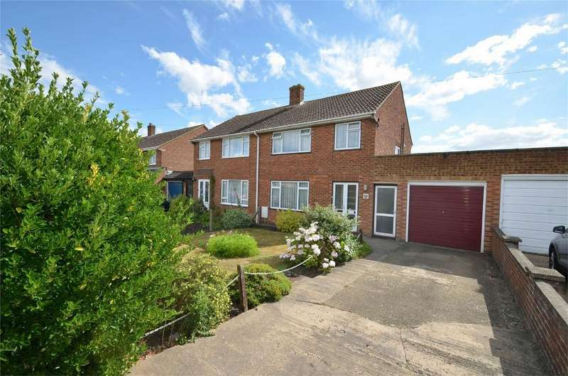 3 Bedrooms Semi Detached House for sale in Hanscombe End Road, SHILLINGTON, Bedfordshire