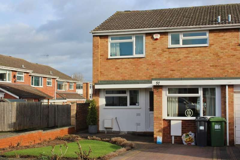 3 Bedrooms Semi Detached House for rent in Mullard Drive, Whitnash, Leamington Spa, CV31