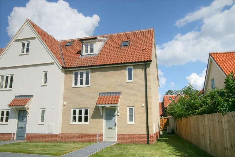 3 Bedrooms End Of Terrace House for sale in The Street, NR17 1FP, Caston, ATTLEBOROUGH, Norfolk