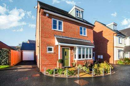 4 Bedrooms Detached House for sale in House Yard Close, Crewe, Cheshire
