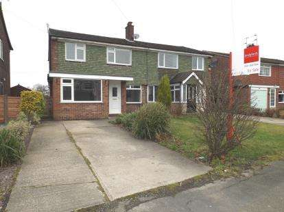 3 Bedrooms Semi Detached House for sale in Penrhyn Crescent, Hazel Grove, Stockport, Cheshire